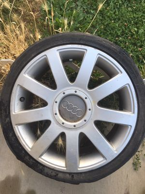 Four wheels size 17 for Sale in Salt Lake City, UT