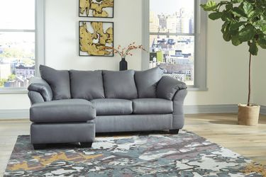 🏺$39 Down Payment . 🏺🏺SPECIAL] Darcy Steel Sofa Chaise for Sale in Beltsville,  MD