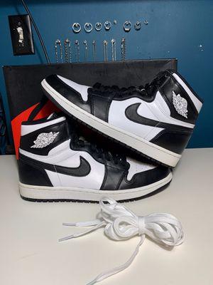 Nike Air Jordan Retro 1 Black/White Size 10 for Sale in Lynwood, CA