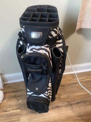 ladies women's golf cart bag carry 14 divider stand carry for Sale in Cinnaminson, NJ