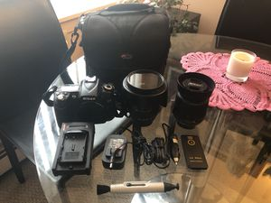 Nikon D90 Camera with 2 Lenses & More for Sale in Chicago, IL