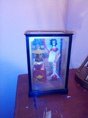 Antique geysha doll for Sale in Fresno, CA