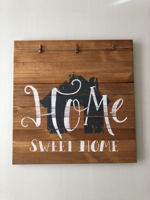 Home Sweet Home - Rustic Wood Sign for Sale in Ruston, LA