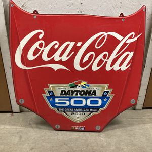 Daytona 500 Coca-Cola Mini Hood Nascar for Sale in Ontario, CA