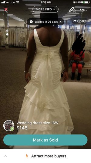 Plus size wedding dress for Sale in Joppa, MD
