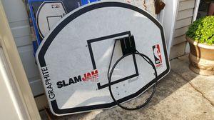 Huffy sports basketball backboard and hoop for Sale in Monroe Township, NJ