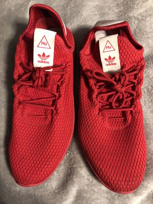 Pharrell Williams adidas red size 12 for Sale in Cypress, CA