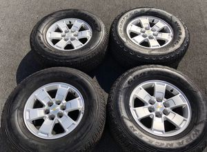 """4 Genuine Chevrolet Colorado Wheel and Tire Package GMC Canyon Chevrolet Colorado """"Newer Models Only"""" 100% Authentic Chevrolet Parts for Sale in Opa-locka, FL"""