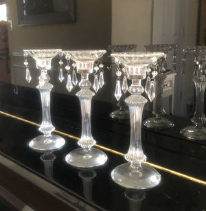 Glass candle holders for Sale in Alexandria, VA