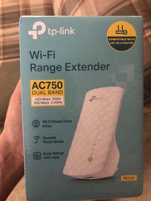 Tp-link wifi range extender (open box-like new) for Sale in Dunwoody, GA