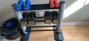 Weider Dumbbell rack without dumbbells for Sale in North Las Vegas, NV