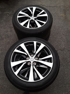 "Nissan maxima platinum 18"" wheels and tires for Sale in Silver Spring, MD"