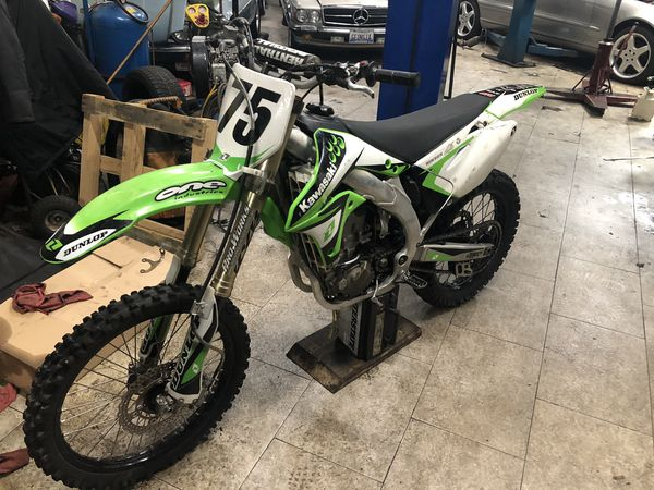 Kawasaki 450f dirt bike