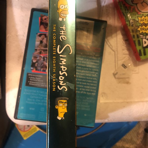 The Simpsons - 4 Disc - Complete 8th season