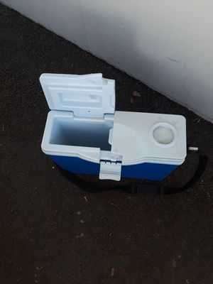 Cooler with carry strap for Sale in Sacramento, CA