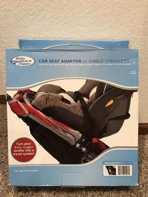 Baby Jogger - car seat adaptor for Sale in Hartland, WI