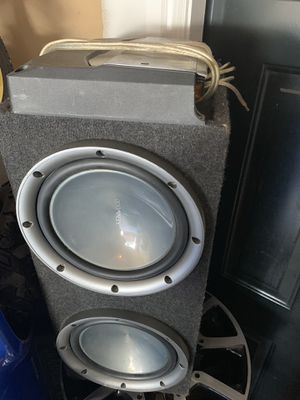 Audio car system subwoofer 2000 w for Sale in Silver Spring, MD