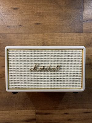 Marshall Acton Wireless Multi-Room Wi-Fi and Bluetooth Speaker, Cream for Sale in Las Vegas, NV