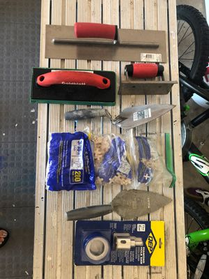MISC CEMENT/TILE TOOLS for Sale in Grant-Valkaria, FL