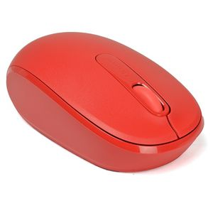 Microsoft 3-Button Optical Scroll Wireless Mobile Mouse 1850 w/1000 DPI & Nano USB Transceiver (Red) for Sale in Los Angeles, CA