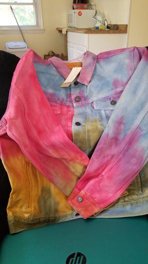 Levi's tye dye jacket for Sale in South Kensington, MD