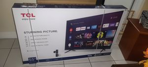"Brand new TCL 55"" LED TV 4K Android TV Google Sealed Special for Sale in Miami, FL"