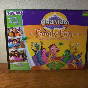 2005 CRANIUM FAMILY FUN Board Game for Kids Ages 8+ Complete except for the Clay for Sale in Winchester, CA