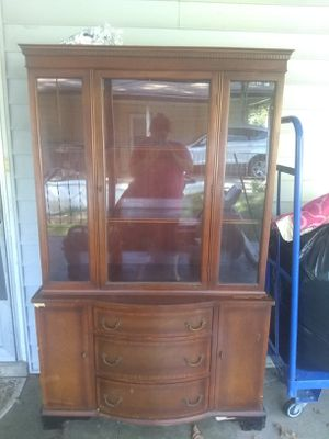 Curio cabinet antique vintage for Sale in Arnold, MO