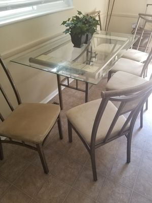 Table for sale 6 Chair for Sale in Columbus, OH