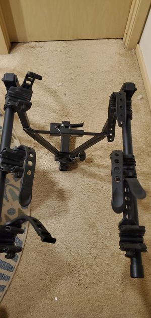 3 bike carrier rack w hitch for Sale in Hillsboro, OR