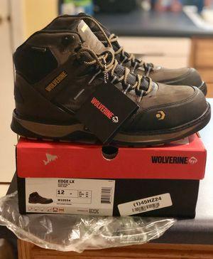 Wolverine Edge work boots size 12 for Sale in Dallas, GA