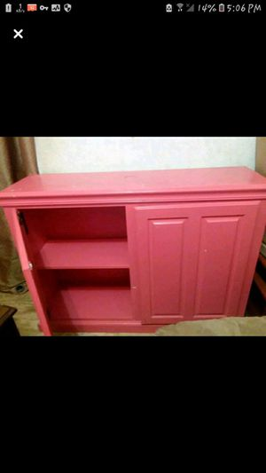 Pink cabinet for Sale in Hensley, AR