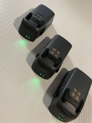 dji spark drone intelligent flight battery (3 total for sale) for Sale in San Diego, CA