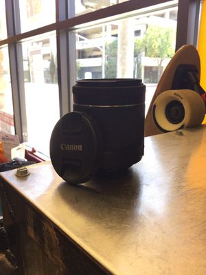 Canon EF-S 18-55mm Lens for Sale in Bakersfield, CA