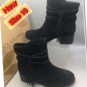 Kookaburra UGG Women's Suede Tassel Ankle Boots 10 for Sale in Tinton Falls, NJ