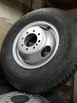 Dual wheel trailer wheel assembly for Sale in Irwindale,  CA