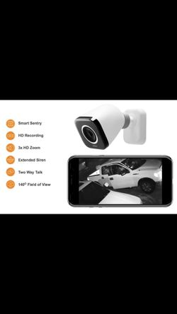 Security cameras with a siren and a speaker! 🔈 protect your home with the best equipment for Sale in Stockton,  CA