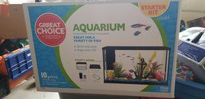10 gal aquarium kit for Sale in Wildomar, CA