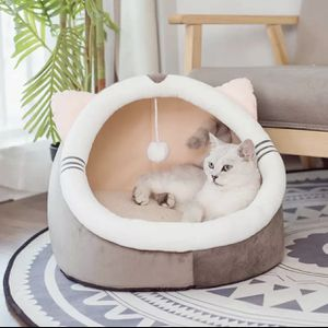 Warm Soft Cat Bed Winter Warm House Cave Pet Dog Soft Nest Kennel Kitten Bed House Sleeping Bag for Small Medium Dogs Supplies for Sale in Phoenix, AZ