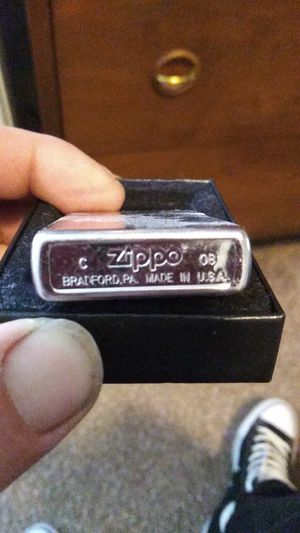 Genuine brushed finished Zippo for Sale in Bothell, WA