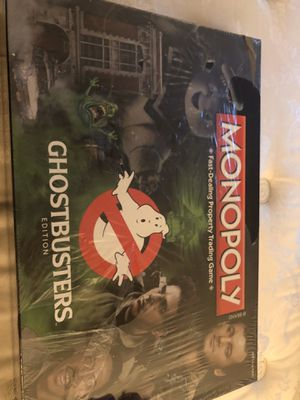 Ghostbusters Monopoly game for Sale in Suffolk, VA