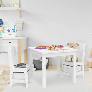 Kids Table and Chair Set with 2 Storage Boxes for Sale in Beaumont, CA