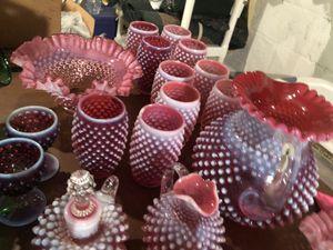 Antique Fenton Glass Set for Sale in Belleville, IL