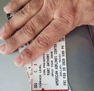 Marc Anthony Concert for Sale in Dallas, TX