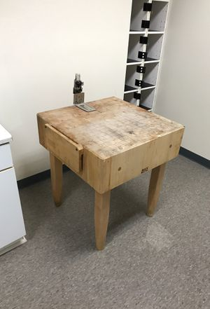 Butcher block with can opener for Sale in Washington, DC