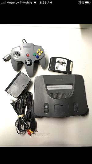 Nintendo 64 madden for Sale in Miami, FL