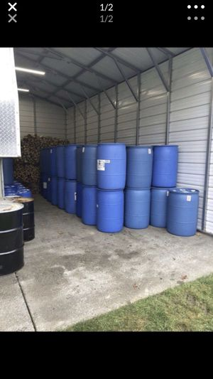 55 gallon drums / barrels for Sale in Kent, WA