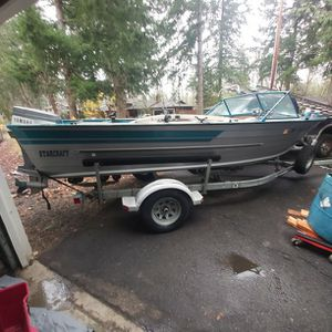 18ft Starcraft With 90hp Yamaha for Sale in Lake Oswego, OR