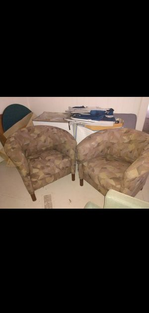 Club chairs ..could recover for Sale in Greensboro, NC