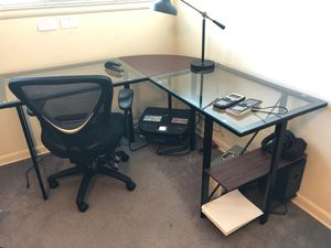 Desk and Printer for Sale in Benbrook, TX